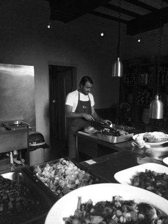 Chateau Rigaud : La cuisine