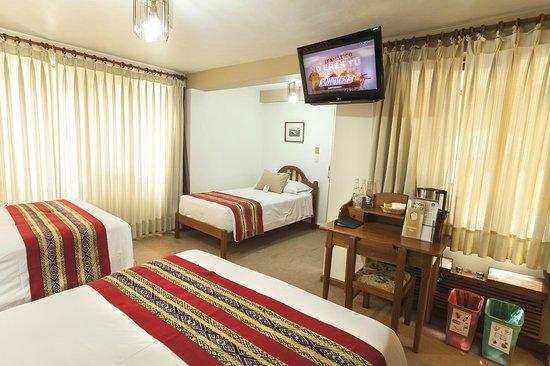 Los Andes De America Hotel: TRIPLE ROOM
