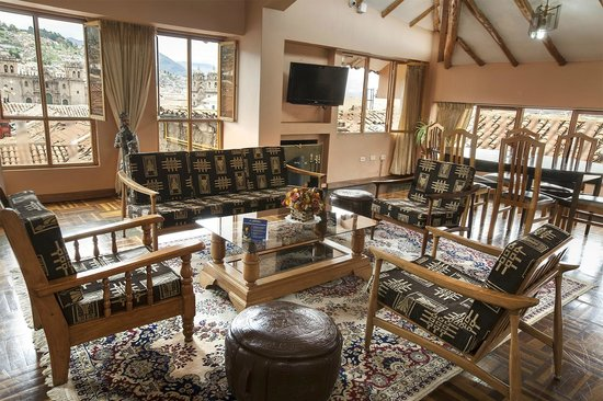 Hotel Los Andes de América: PANORAMICAL LOBBY