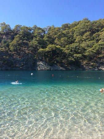 Strand von Ölüdeniz (Blaue Lagune): Look at that water!