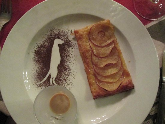 Londiningi Guesthouse: a yummy dessert at the guesthouse