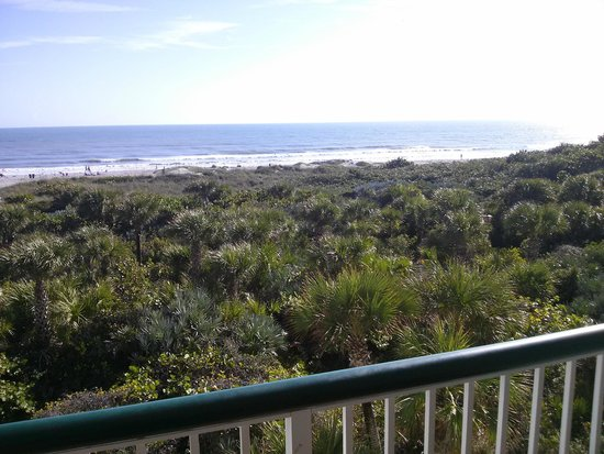 The Resort on Cocoa Beach: View from an ocean front condo