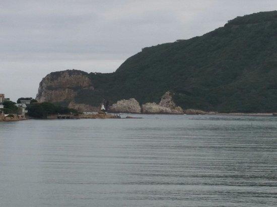 Isola Bella: Ausblick von der Terrasse