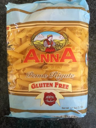 Our bag of gluten free pasta to take home. - Picture of Kitchen ...
