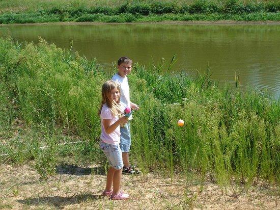 Bastrop State Park: fishing