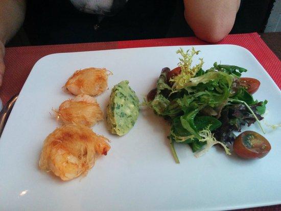 L'Ange 20 Restaurant : Shrimp Starter