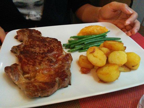 L'Ange 20 Restaurant : Steak