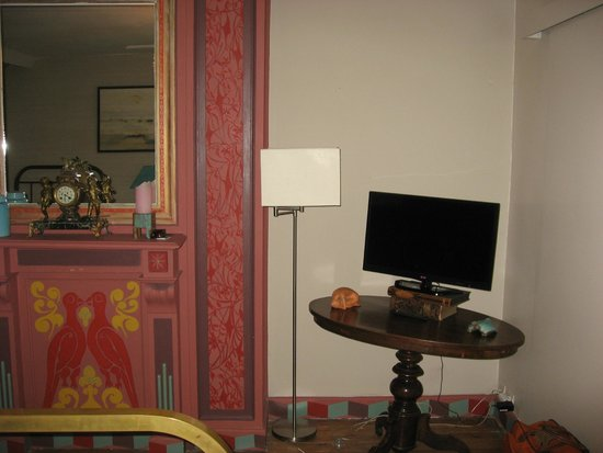 Maison du Sart Chambres d Hotes : Coin télé