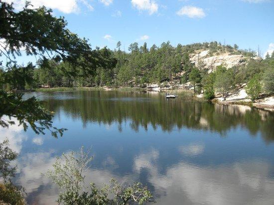Mt. Lemmon Scenic Byway: Rose Canyon Lake Mt Lemmon AZ
