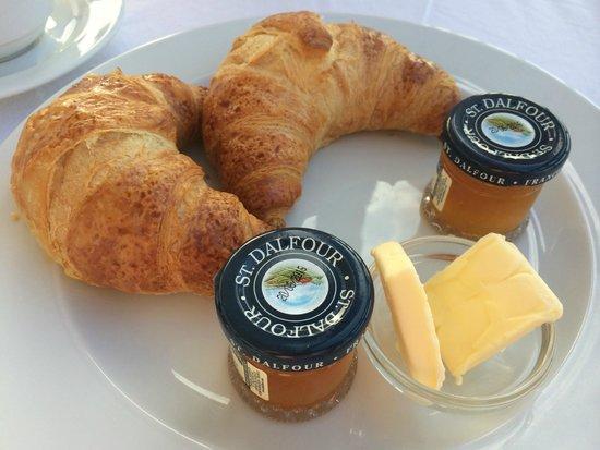 Hotel Stari Grad: 朝食のクロワッサン