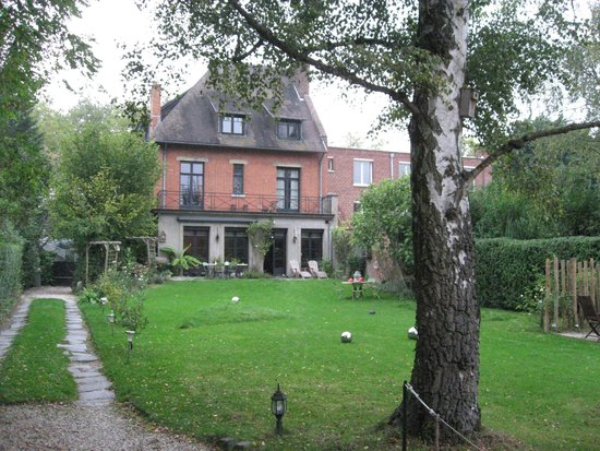 Maison du Sart Chambres d Hotes : vue arrière
