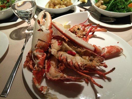 The Moorings Hotel: Lobster £28.5