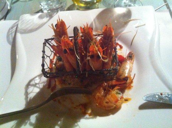 Le Relais des Salines : Rare Imperial Shrimps from les Claires