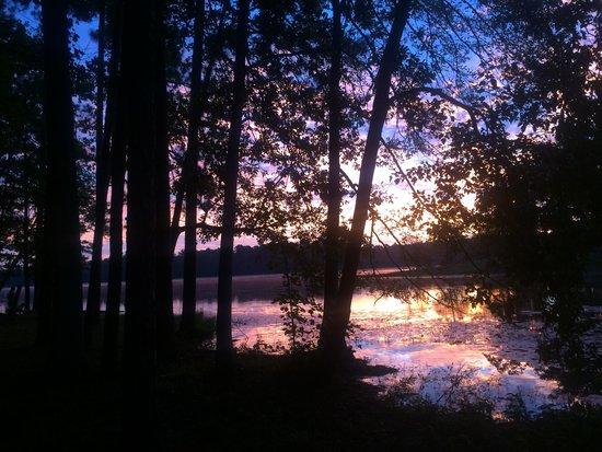 Paul B. Johnson State Park : Sunrise
