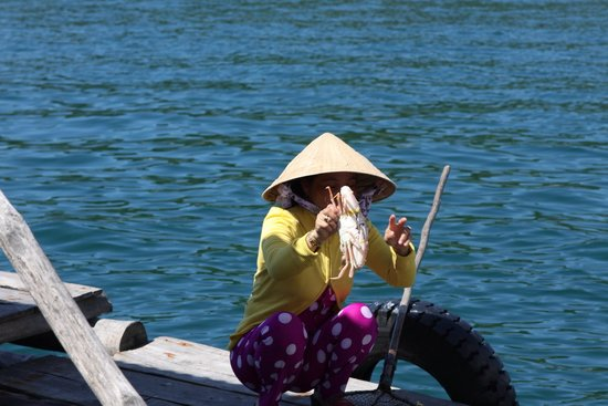 Sunny Boat Trip : Вьетнамка
