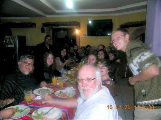 La Casa Tolena Hostal: Amigos Nueva México
