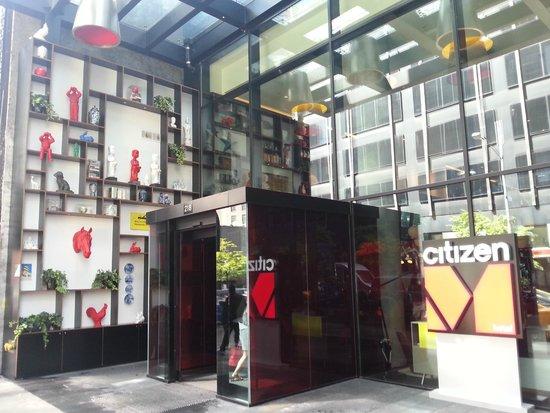 Design Wandverlichting Badkamer : Badkamer met regelbare verlichting picture of citizenm new york