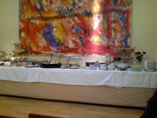 Hotel Papageno: Breakfast room