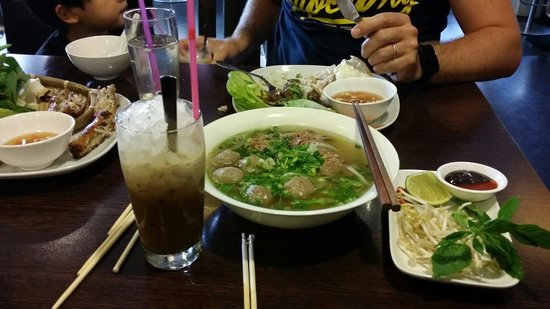 asiaway vietnamese cuisine: Delicious pho and vietnamese iced coffee