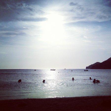Taganga Dive Inn: Taganga Sunset