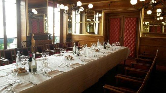 Le Bistrot de Paris : salon premier étage