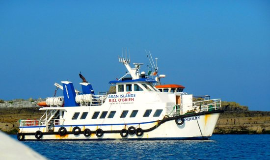 O'Brien Line Ferries : One of O'Brian's Ferry Boats