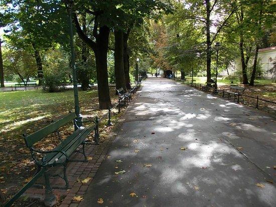 Hotel Grodek : Park just around the corner
