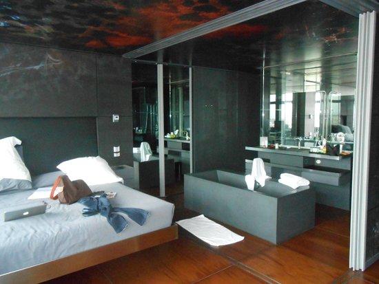 Foto de silken puerta america madrid suite jean nouvel for Hotel silken puerta america plantas