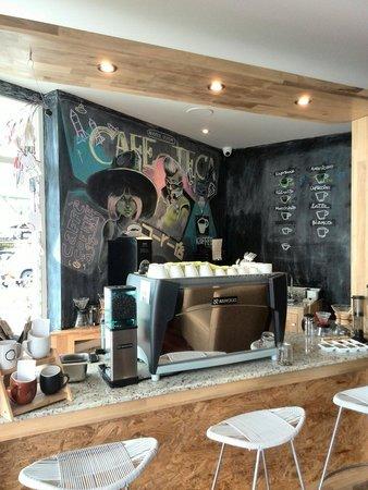 Cafeoteca: Mural