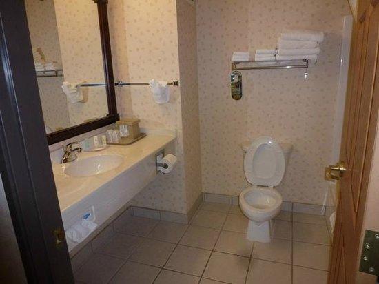 Comfort Inn & Suites Custer: Second Floor Two Queen Bathroom
