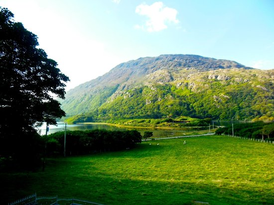 Kylemore Lodge B&B : The view from our room