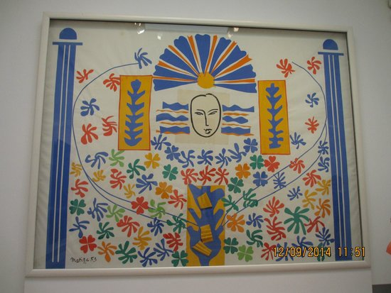 Moderna Museet - Stockholm: Apollo, paper cut-out by Matisse