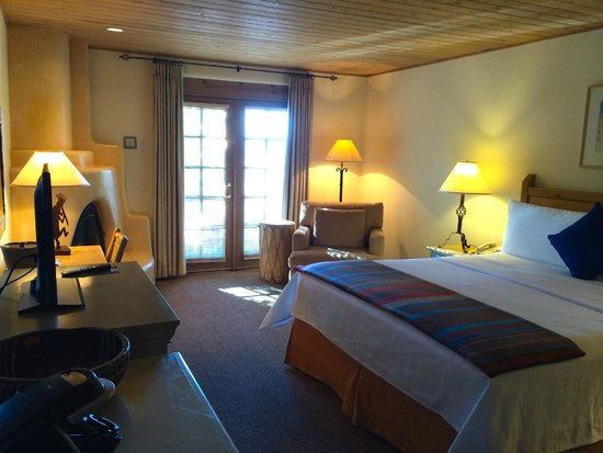 Inn on the Alameda : Our king size room