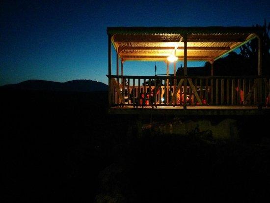 Cabin at Kadita: Night over the valley
