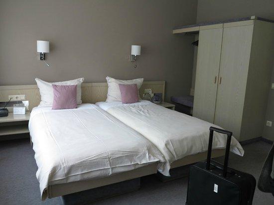 Hotel des Nations : slaapgedeelte