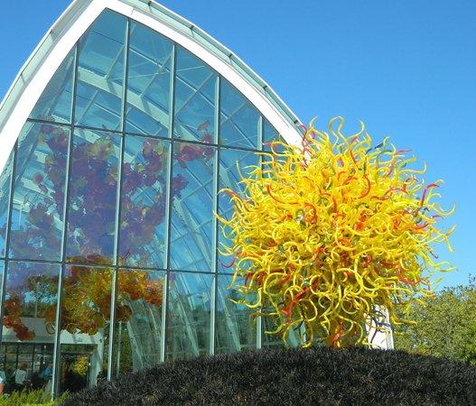 foto de jard n y cristal chihuly seattle entrada On jardin y cristal chihuly