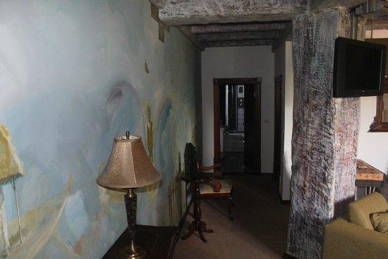Stasea Apartments: Вид на ванную