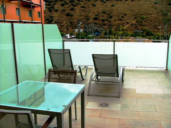 Hotel Macia Real de la Alhambra: private terrace