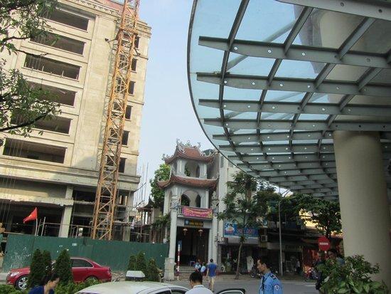 Mercure Hanoi La Gare Hotel : Entrada