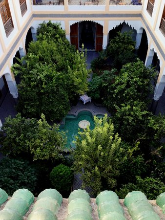 Palais Amani: COURTYARD