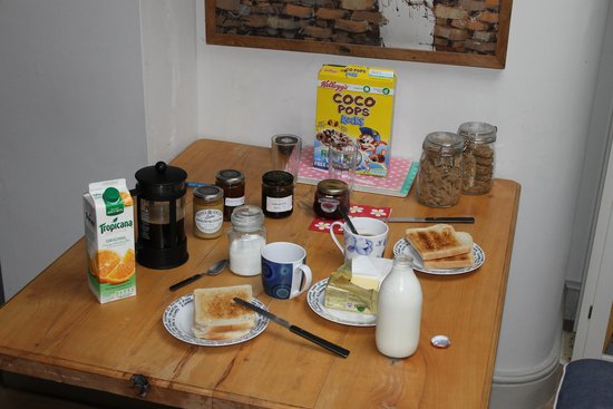 A Better Way to Stay : Desayuno