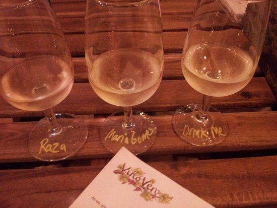 Vino Vero: Wine flight!