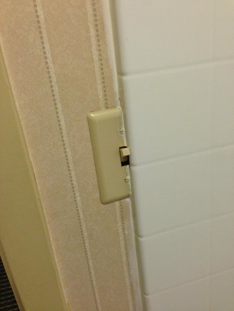 Four Points by Sheraton West Lafayette: The tile was the shower part