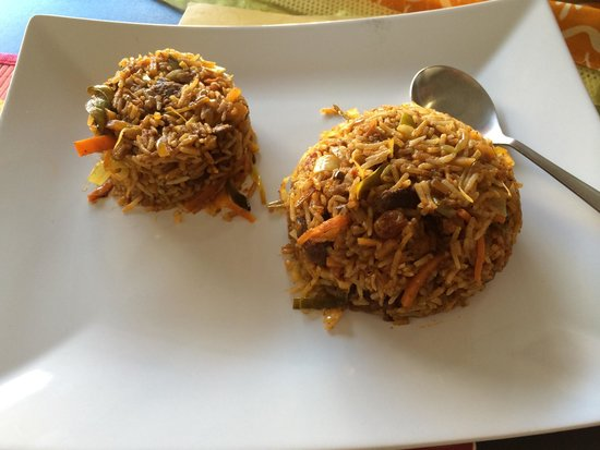 Shanthi: برياني لحم