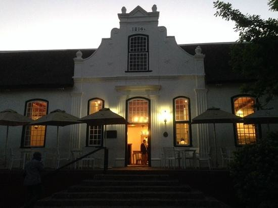 The Restaurant At Neethlingshof: main building