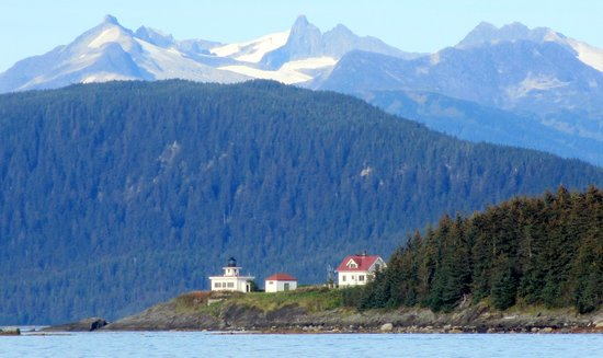 Lighthhouse Admiralty Island Alaska Saw It When Salmon Fishing