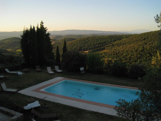 Domaine Michaud: Bedroom morning view