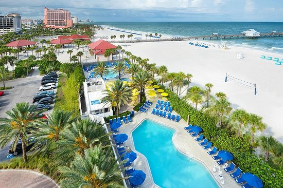 white sand beach picture of hilton clearwater beach. Black Bedroom Furniture Sets. Home Design Ideas