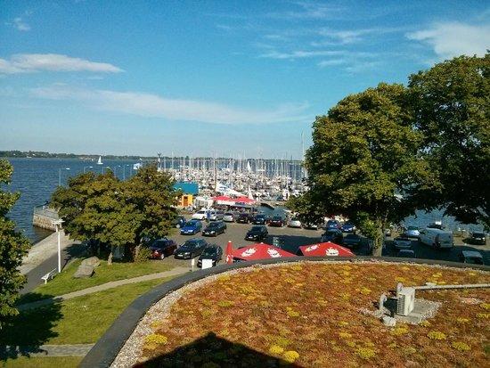Hafenresidenz Stralsund: Aussblick aus Suite 2.OG