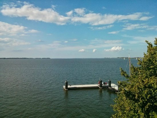 Hafenresidenz Stralsund: Aussblick auf den Sund aus der Suite im 2.OG